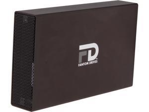 Fantom Drives G-Force 4TB USB 3.0 / eSATA Aluminum Desktop External Hard Drive GF3B4000EU Black