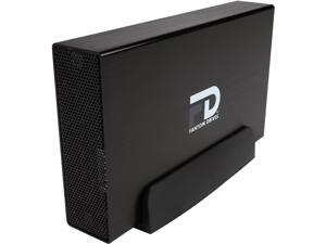 Fantom Drives G-Force 8TB USB 3.0 / eSATA Aluminum Desktop External Hard Drive GF3B8000EU Black