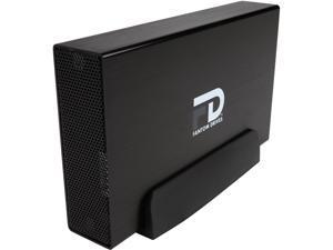 Fantom Drives G-Force 6TB USB 3.0 / eSATA External Aluminum Desktop External Hard Drive GF3B6000EU Black