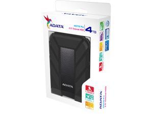ADATA 4TB HD710P Portable Hard Drive USB 3.1 Model AHD710P-4TU31-CBK Black