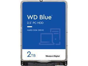 """WD Blue WD20SPZX 2TB 5400 RPM 128MB Cache SATA 6.0Gb/s 2.5"""" Internal Notebook Hard Drive"""