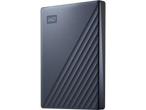 WD 2TB My Passport Ultra Portable Storage External Hard Drive USB-C Blue WDBC3C0020BBL-WESN