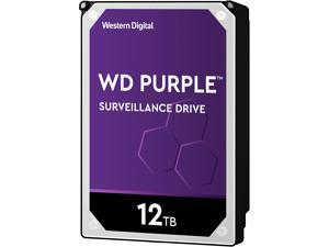 "WD Purple WD121PURZ 12TB 7200 RPM 256MB Cache SATA 6.0Gb/s 3.5"" Internal Hard Drive"