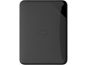 WD 4TB Gaming Drive Black External Hard Drive for Playstation/Xbox & PC - USB 3.0 (WDBM1M0040BBK-WESN)