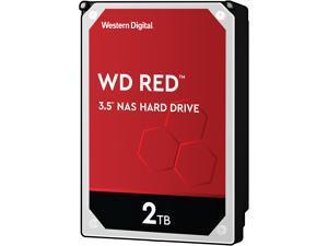 "WD Red 2TB NAS Internal Hard Drive - 5400 RPM Class, SATA 6Gb/s, SMR, 256MB Cache, 3.5"" - WD20EFAX"