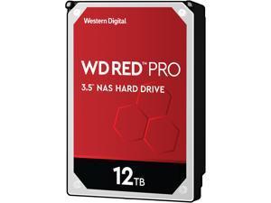 """WD Red Pro WD121KFBX 12TB 7200 RPM 256MB Cache SATA 6.0Gb/s 3.5"""" Internal Hard Drive"""