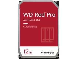 "WD Red Pro WD121KFBX 12TB 7200 RPM 256MB Cache SATA 6.0Gb/s 3.5"" Internal Hard Drive"
