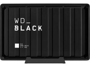 WD Black 8TB D10 Game Drive Portable External Hard Drive for PS4/Xbox One/PC/Mac USB 3.2 (WDBA3P0080HBK-NESN)