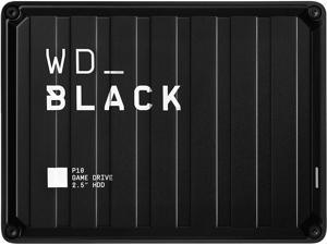 WD Black 2TB P10 Game Drive Portable External Hard Drive for PS4/Xbox One/PC/Mac USB 3.2 (WDBA2W0020BBK-WESN)