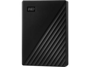 WD 4TB My Passport Portable Storage External Hard Drive USB 3.2 for PC/MAC Black (WDBPKJ0040BBK-WESN)