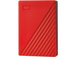 WD 4TB My Passport Portable Storage USB 3.2 Gen 1 - Red - WDBPKJ0040BRD-WESN