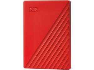 WD 2TB My Passport Portable Storage USB 3.0 - Red - WDBYVG0020BRD-WESN