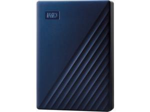 WD 5TB My Passport for Mac Portable External Hard Drive Storage USB-C/USB-A 3.2 - Midnight Blue (WDBA2F0050BBL-WESN)