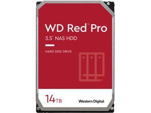 "WD Red Pro WD141KFGX 14TB 7200 RPM 512MB Cache SATA 6.0Gb/s 3.5"" Internal Hard Drive"