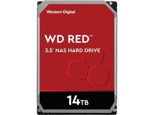 """WD Red 14TB NAS Internal Hard Drive - 5400 RPM Class, SATA 6Gb/s, CMR, 512MB Cache, 3.5"""" - WD140EFFX"""
