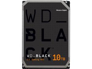 WD Black 10TB Performance Desktop Hard Disk Drive - 7200 RPM SATA 6Gb/s 256MB Cache 3.5 Inch - WD101FZBX