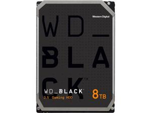 "WD Black 8TB Performance Internal Hard Drive 7200 RPM 256MB Cache SATA 6.0Gb/s 3.5"" - WD8001FZBX"