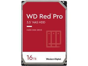 """WD Red Pro WD161KFGX 16TB 7200 RPM 512MB Cache SATA 6.0Gb/s 3.5"""" Internal Hard Drive"""