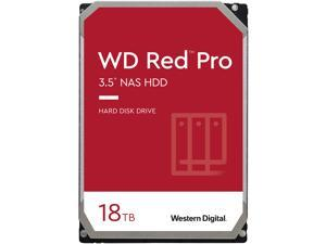 "WD Red Pro WD181KFGX 18TB 7200 RPM 512MB Cache SATA 6.0Gb/s 3.5"" Internal Hard Drive"