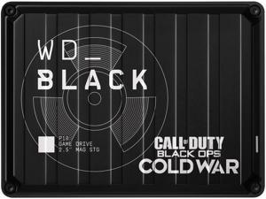WD BLACK 2TB P10, Call of Duty: Black Ops Cold War Special Edition USB 3.2 Gen 1, Micro B Model WDBAZC0020BBK-WESN Black