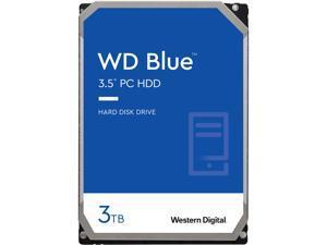 WD Blue 3TB Desktop Hard Disk Drive - 5400 RPM SATA 6Gb/s 256MB Cache 3.5 Inch - WD30EZAZ