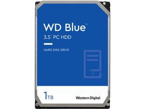 WD Blue 1TB Desktop Hard Disk Drive - 5400 RPM SATA 6Gb/s 64MB Cache 3.5 Inch - WD10EZRZ