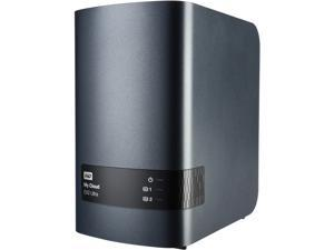 WD Diskless My Cloud EX2 Ultra NAS - Network Attached Storage - Dual-Core Processor (WDBVBZ0000NCH-NESN)