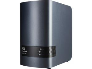 WD 4TB My Cloud EX2 Ultra Network Attached Storage - WDBVBZ0040JCH-NESN