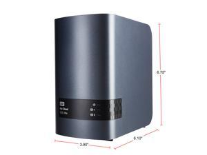 WD 16TB My Cloud EX2 Ultra NAS - Network Attached Storage - Dual-Core Processor (WDBVBZ0160JCH-NESN)