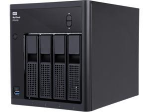 WD 32TB My Cloud PR4100 Pro Series Media Server w/ Transcoding for Mac/PC & iOS/Android, NAS (WDBNFA0320KBK-NESN)