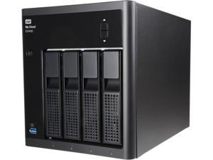 WD 32TB My Cloud EX4100 Expert Series for Mac/PC & iOS/Android - NAS (WDBWZE0320KBK-NESN)
