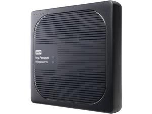 WD 2TB My Passport Wireless Pro Portable External Hard Drive - Wi-Fi AC, SD, USB 3.0 - WDBP2P0020BBK-NESN