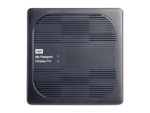 WD 3TB My Passport Wireless Pro Portable External Hard Drive - iOS/Android Compatible - Wi-Fi AC, SD, USB 3.0 (WDBSMT0030BBK-NESN)