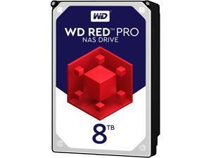 "WD Red Pro WD8001FFWX 8TB 7200 RPM 128MB Cache SATA 6.0Gb/s 3.5"" Hard Drive Bare Drive"