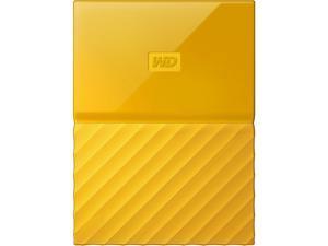 WD 3TB My Passport Portable Hard Drive USB 3.0 Model WDBYFT0030BYL-WESN Yellow