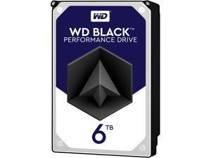 WD Black 6TB Performance Desktop Hard Disk Drive - 7200 RPM SATA 6Gb/s 128MB Cache 3.5 Inch - WD6002FZWX