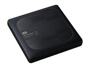 WD 1TB My Passport Wireless Pro Portable External Hard Drive - iOS/Android Compatible - Wi-Fi AC, SD, USB 3.0 (WDBVPL0010BBK-NESN)