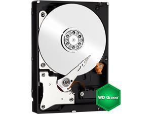 """Western Digital WD Green WD5000AZRX 500GB IntelliPower 64MB Cache SATA 6.0Gb/s 3.5"""" Internal Hard Drive Bare Drive"""