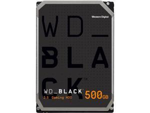 WD Black 500GB Performance Desktop Hard Disk Drive - 7200 RPM SATA 6Gb/s 64MB Cache 3.5 Inch - WD5003AZEX