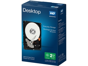 "WD Desktop Mainstream WDBH2D0020HNC-NRSN 2TB IntelliPower 64MB Cache SATA 6.0Gb/s 3.5""  Internal Hard Drive Retail Kit"
