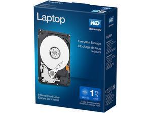 "WD Laptop Mainstream WDBMYH0010BNC-NRSN 1TB 5400 RPM 8MB Cache SATA 3.0Gb/s 2.5"" Internal Hard Drive Retail Kit"