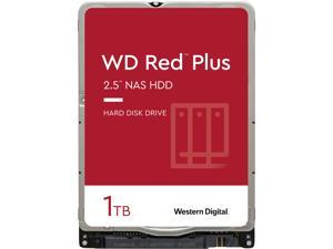 WD Red Plus 1TB NAS Hard Disk Drive - 5400 RPM Class SATA 6Gb/s 16MB Cache 2.5 Inch - WD10JFCX