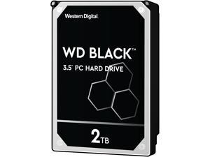 WD Black 2TB Performance Desktop Hard Disk Drive - 7200 RPM SATA 6Gb/s 64MB Cache 3.5 Inch - WD2003FZEX