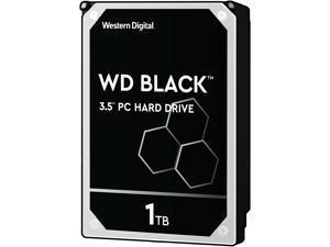 WD Black 1TB Performance Desktop Hard Disk Drive - 7200 RPM SATA 6Gb/s 64MB Cache 3.5 Inch - WD1003FZEX