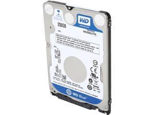 "WD Blue WD2500LPVX 250GB 5400 RPM 8MB Cache SATA 6.0Gb/s 2.5"" Internal Notebook Hard Drive Bare Drive"