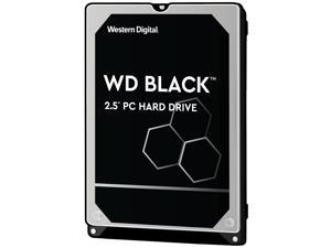 "WD Black 500GB Performance Laptop Hard Disk Drive - 7200 RPM SATA 6Gb/s 32MB Cache 2.5"" - WD5000LPLX"
