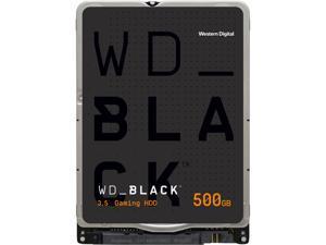 """WD Black 500GB Performance Laptop Hard Disk Drive - 7200 RPM SATA 6Gb/s 32MB Cache 2.5"""" - WD5000LPLX"""
