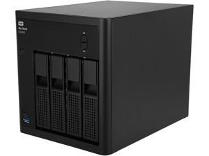 WD Diskless My Cloud EX4100 Expert Series Network Attached Storage - NAS WDBWZE0000NBK-NESN