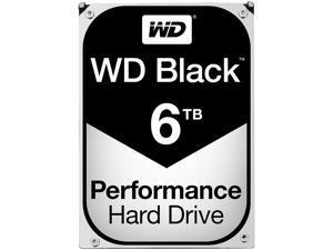 WD Black 6TB Performance Desktop Hard Disk Drive - 7200 RPM SATA 6Gb/s 128MB Cache 3.5 Inch - WD6001FZWX