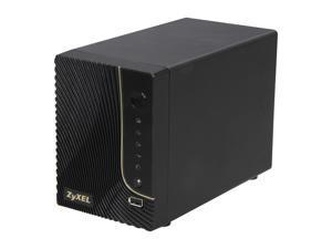 ZyXEL NSA320 Diskless System 2-Bay Power Media Server